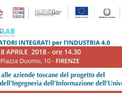 CrossLab: a Firenze presentazione dei laboratori per Industria 4.0
