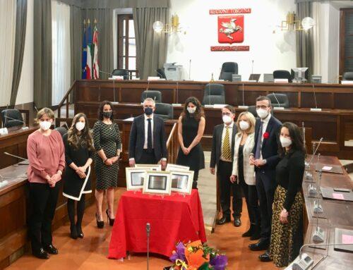 Il Consiglio regionale della Toscana premia le scienziate Claudia Sala e Teresa Fornaro
